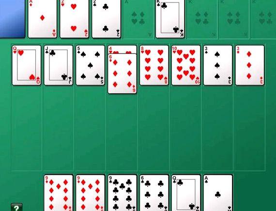 Алжирский пасьянс играть онлайн бесплатно на русском