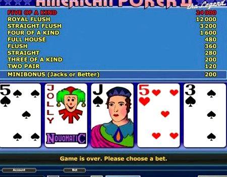 Онлайн американский покер 2 играть бесплатно без регистрации онлайн портал рулетка