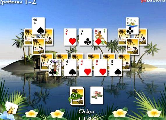 Багамы пасьянс играть бесплатно