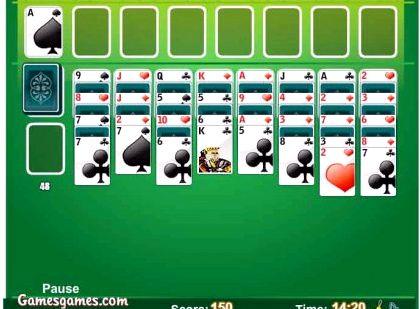 Бесплатная игра пасьянс чередование двадцать