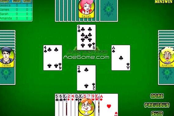 Червы играть онлайн на русском бесплатно