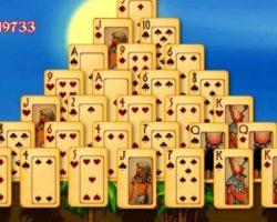Дуэль пасьянс пирамида