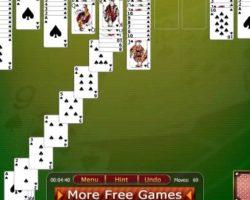 Флеш игры пасьянс паук играть онлайн бесплатно