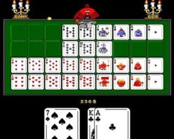 Флэш карточная игра девятка