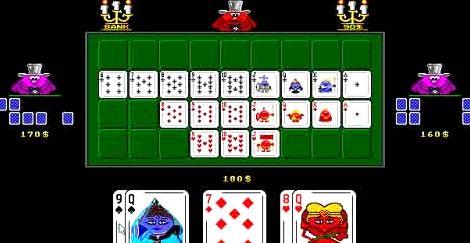 Игра девятка в карты играть с компьютером