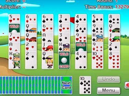 Игра гольф пасьянс онлайн играть бесплатно