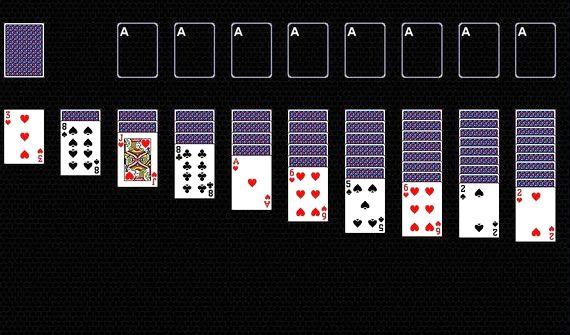 Игра карты пасьянс австралийский