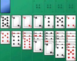 Игра косынка 3 карты пасьянс