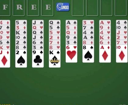 Игра пасьянс солитер онлайн бесплатно без регистрации