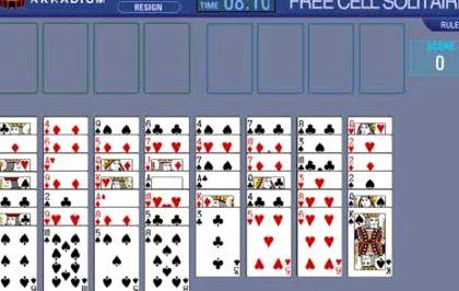 Игра пасьянс солитер скачать бесплатно