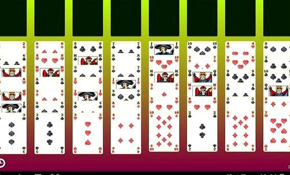 Игра пасьянс свободная ячейка скачать бесплатно