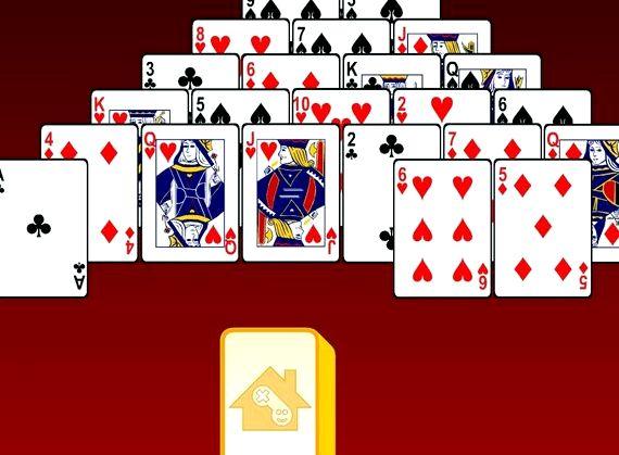 Игра пирамида 13 пасьянс играть бесплатно