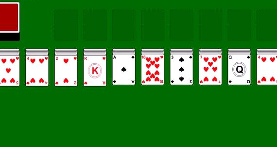 Игра в карты пасьянс паук 2 масти