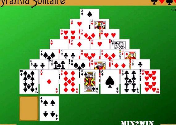 Игра в карты пасьянс пирамида бесплатно