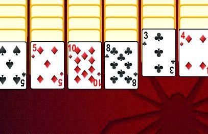 Играем в карты пасьянс паук четыре масти