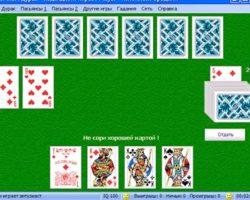 Игральные карты дурак играть
