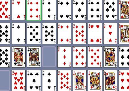 Играть карты пасьянс коврик онлайн бесплатно