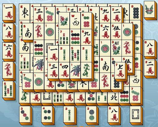 Играть китайский пасьянс маджонг