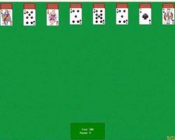 Играть онлайн карты пасьянс паук 2 масти