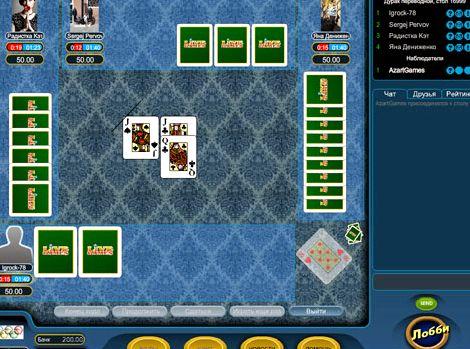 Играть в дурака онлайн бесплатно с реальными