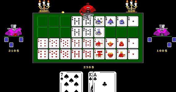 Играть в карточную игру девятка без регистрации