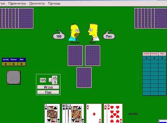 играть 1000 онлайн карты