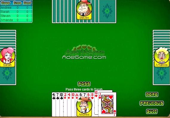 Играть в карты онлайн бесплатно черви