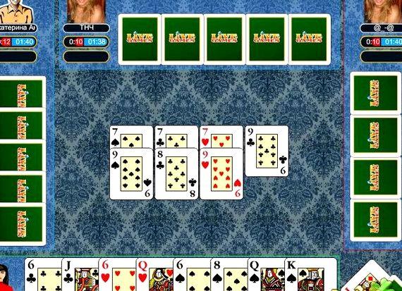 Игры карты дурак переводной и подкидной бесплатно