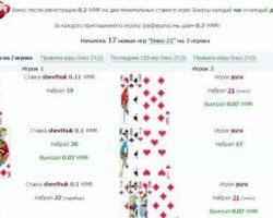 Играть бесплатно в карты очко ограбление казино 2