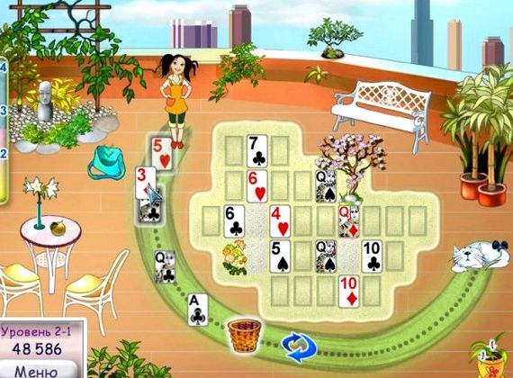 Канобу онлайн игры карточные пасьянсы маджонг