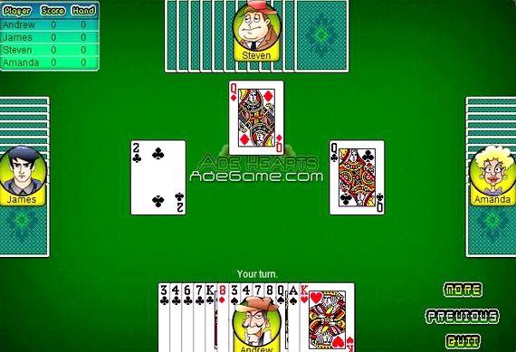 Карточная игра черви играть бесплатно онлайн