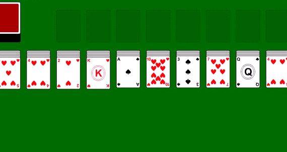 Карточные игры онлайн пасьянс паук две масти