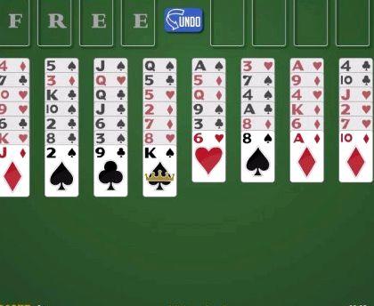 Карты игра в пасьянс солитер играть бесплатно