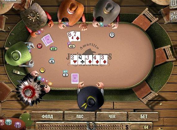 на диком онлайн играть покер западе