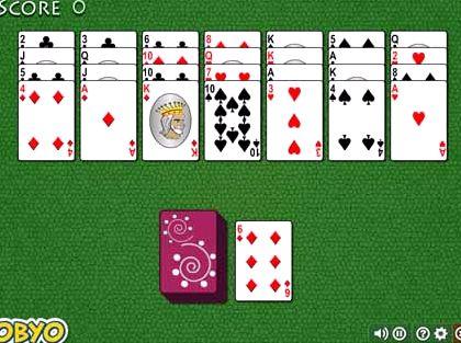 Коврик пасьянс играть онлайн бесплатно