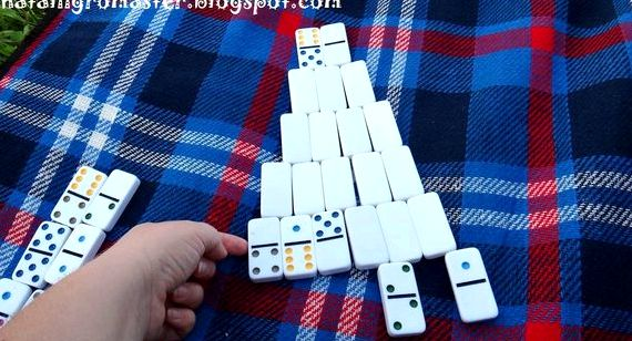 Пасьянс домино пирамида правила