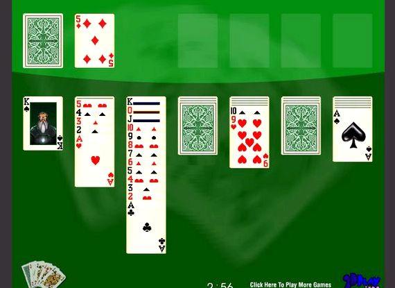 Пасьянс косынка играть онлайн и совершенно бесплатно