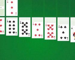 Пасьянс косынка онлайн играть по три карты