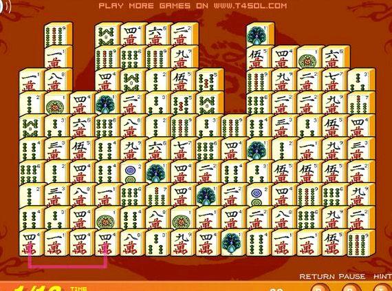 Пасьянс маджонг коннект играть бесплатно
