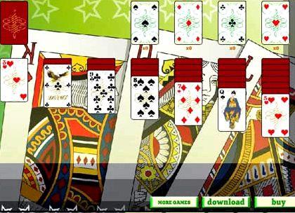 Пасьянс пирамида двойная по три карты