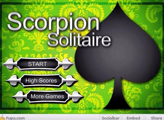 Пасьянс скорпион скачать бесплатно на компьютер