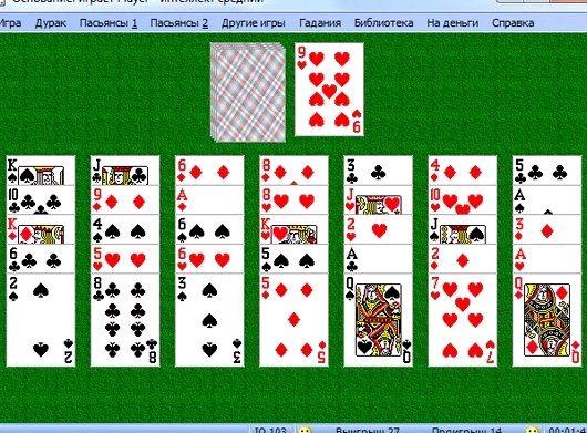 Правила карточной игры дурак простой