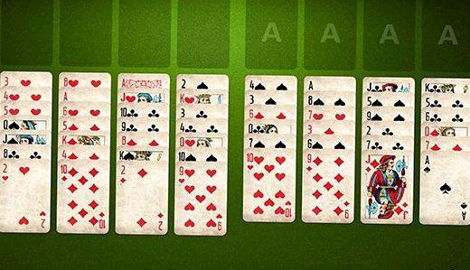 Скачать карточный пасьянс косынка на компьютер бесплатно