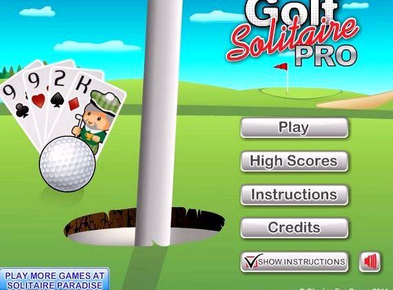 Скачать пасьянс гольф