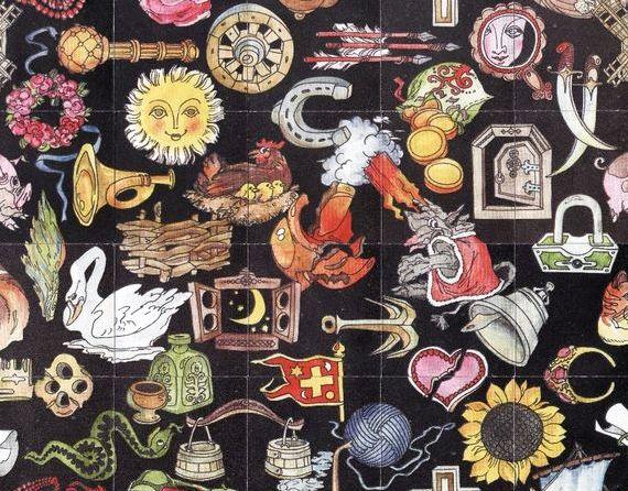 Старинный пасьянс карты