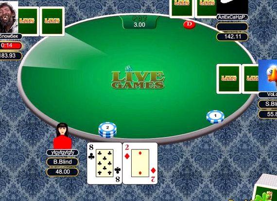 онлайн техас игры играть покер