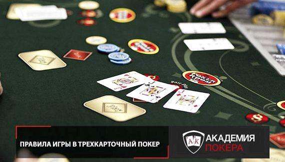 Виды покера и их правила