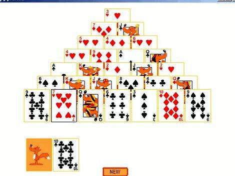 Закрытая пирамида пасьянс